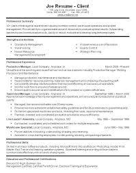 Supervisor Resume Objective X Example Customer Service Retail