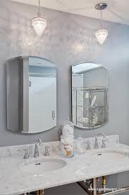 grey bathroom transitional bathroom lugbill designs