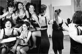 idée enterrement vie de fille cours d effeuillage et danse
