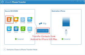 How can i Transfer Contacts from Android to iPhone 6 6 Plus Quora