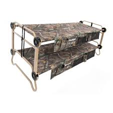 disc o bed cam o bunk realtree xtra 82 in xl bunk beds with