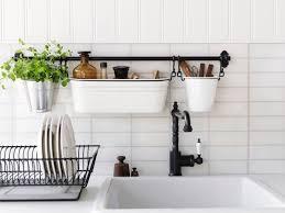 kitchen wall hanging storage storage ideas