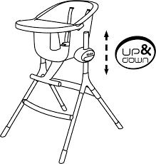 chaise haute beaba chaise haute up beaba beaba