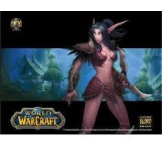 tapis de souris world of warcraft elfe de la nuit top prix fnac