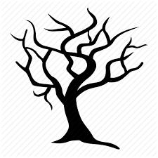 barren clipart winter tree 3