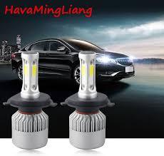 light s2 h4 h7 h1 cob led headlight bulbs h11 h13 12v 9005