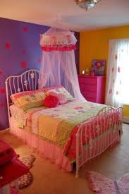 Flowers Butterflies For Girls Room A Beautiful And Colorful Space Little Shared Bedroom 4 2 Years Old Girl