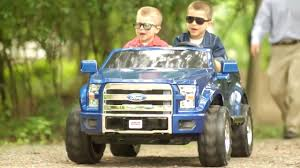 100 Kids Electric Truck Car For Ford F150 Power Wheels YouTube
