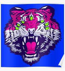 Seven Eyed Tiger Poster
