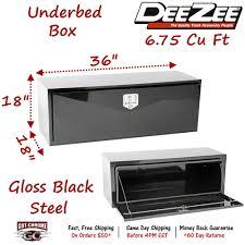 100 Dee Zee Truck Tool Box DB2601 Underbody Black Steel 36 X 18 X 18