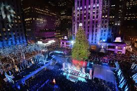 Rockefeller Christmas Tree Lighting 2018 by Festive Holiday Lights Today Com