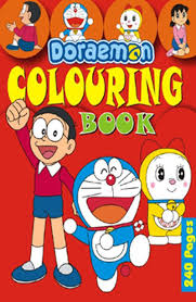 Buy Doraemon Colouring Book Red Online At Low Prices In India
