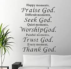 tonsee bibel wall sticker wohnkultur lob gott religiöse angebote schriftzug sprüche herausnehmbare pvc decals für wohnzimmer kinder bett zimmer