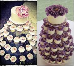 Cupcake Wedding Cakes Photo