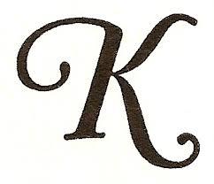 CatnipStudioCollage Monogram Monday The Letter K Cliparts