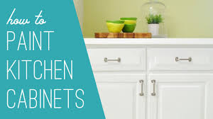 Nuvo Cabinet Paint Video by How To Paint Your Kitchen Cabinets Youtube