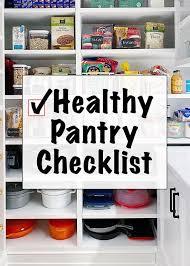 pantry refrigerator and freezer staples skinnytaste