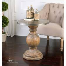 Uttermost Blythe Reclaimed Fir Wood Accent Table SALE