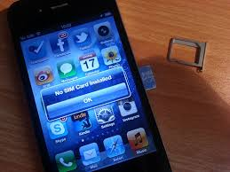 How to a SIM card out of an iPhone if you put it in without
