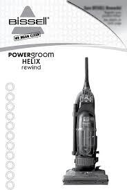 Bissell Total Floors Pet Manual by Bissell Vacuum Cleaners Powergroom Helix Rewind Vacuum 98n4 Pdf