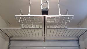 Ceiling Ceiling Mounted Shelves Kitchen Garage Storage Ideas