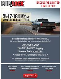 Manual Pop N Lock Ready - Page 3 - Honda Ridgeline Owners Club Forums New Tailgate Lock Chevy Chevrolet C1500 Truck K1500 Gmc K2500 Pop Pl8250 Power For Ford Locks Replacing A On F150 16 Steps Padlock How To Remove Chevygmc Lvadosierra Cap Youtube Central Nissan Np300 Amazoncom Mcgard 76029 Automotive Review Ranger Aucustscom Lmc Hidden Latch All Girls Garage Dee Zee Dz2145 Britetread Protector Locking Handle For Dodge Ram Rollnlock Mseries Mobile Living And Suv Accsories