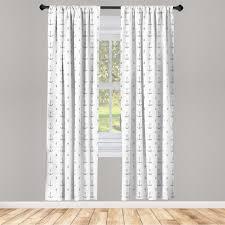 gardine fensterbehandlungen 2 panel set für wohnzimmer schlafzimmer dekor abakuhaus anker maritime meer artikel muster kaufen otto