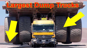 Top 10 Largest Dump Trucks In The World 2017 - 2018 - YouTube