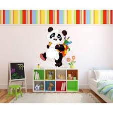 stickers panda chambre bébé stickers panda écolier stickers animaux pas cher pour enfants