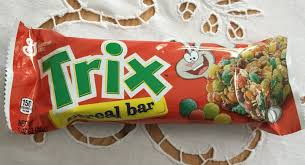 Archived Reviews From Amy Seeks New Treats Trix Cereal Bar American Soda