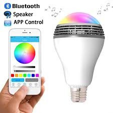 click to buy wireless bluetooth 4 0 light bulb remote