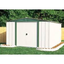 10x20 Metal Storage Shed by Arrow Shed Storage Sheds On Hayneedle Shop Storage Sheds By
