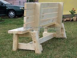 free backless simple wood bench plans friendly woodworking projects