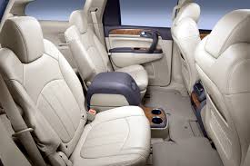 Luxury Suv With Second Row Captain Chairs by 2008 Buick Enclave Review