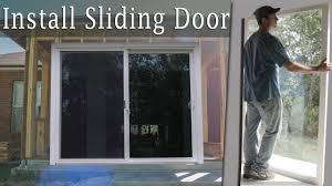100 Sliding Exterior Walls Installing A Large Glass Door Turn Porch Into Room Vid 9