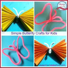 Easy Butterfly Crafts For Toddlers