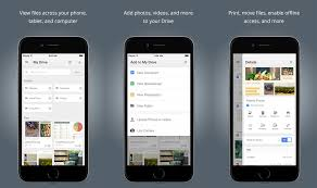 Google Drive for iOS now lets you open and save files using other