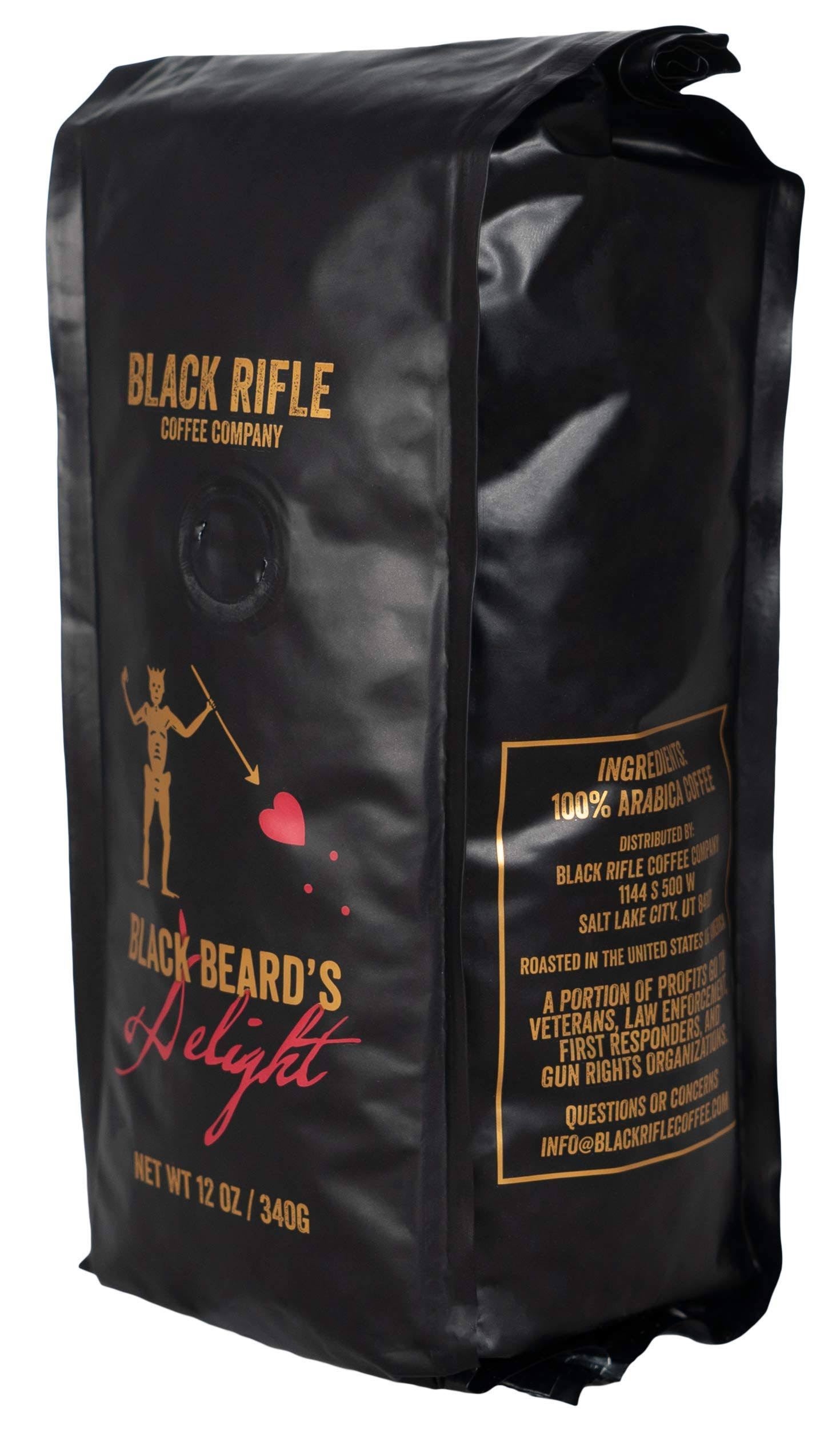 Black Rifle Coffee Company Blackbeard's Delight Coffee - 12oz