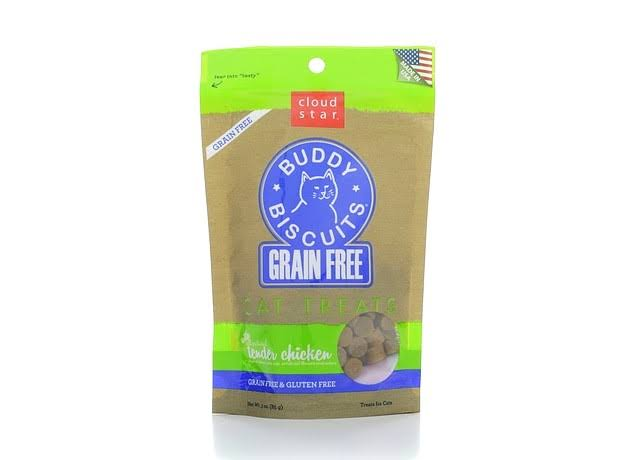 Cloud Star Grain Free Cat Treats - Chicken, 3oz