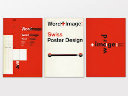 Word Image Swiss Poster Design