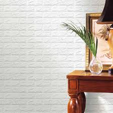 3D Brick Stone Wallpaper Wall Stickers Self Adhesive Panels Decal DIY Home Living Room Decoration In From Garden On Aliexpress