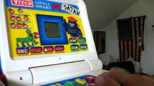 vtech smart alphabet picture desk pc satan circuit bent vtech computer