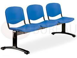 mobilier de bureau au maroc siège poutre 3 places smart polypropylène