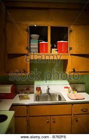 50er jahre amerikanische küche usa stockfotografie alamy