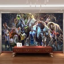 3D Game Wall Mural League Of Legends Photo Wallpaper Custom Art Boys Bedroom Livingroom Large Room Decor Hallway Kids
