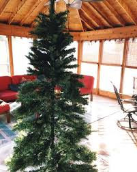 Christmas Tree Amazon Local by How To Flock Your Own Christmas Tree Hometalk