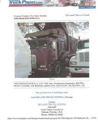 100 Truck Paper Trailers For Sale Freightliner FLA Believed To Be Dempster XHD Body With A H