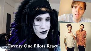 Kitchen Sink Twenty One Pilots Mp3 Download by Goth Reacts To Shane Dawson Reacts To Twenty One Pilots Youtube