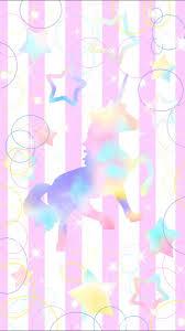 CocoPPa On Twitter Innocent Unicorn Rainbow Colourful Pink Beautiful Dreamy Lovely Girly Cute Kawaii Homescreen Wallpaper Icon