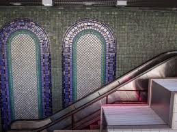 Pewabic Pottery Tiles Detroit by The 13 People Mover Stations Are Loaded With Impressive Art